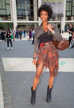 Gorgeous!: Street Style, Outfit, Yaya Decosta, Fashionable Hairstyles, Naturalhair, Yaya Dacosta, Natural Hairstyles, Women
