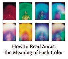 How to Read Auras: Aura Colors Meaning -PositiveMed | Positive Vibrations in Health: Color Meaning, Colors Meaning, Auras, Healing Spell, Colors Will, Reading Aura, Aura Meaning, Aura Colour
