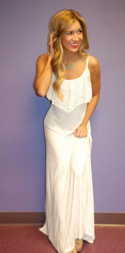 Impress Glam Maxi White | Impressions: Maxi Dresses, White Maxi Dress, Glam Maxi, Rehearsal Dinner, Impress Glam, Dream Closet, Maxis