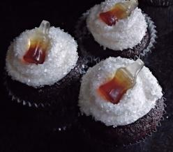 Jack And Coke Cupcakes--my husband would love these: Sweet, Food, Drunken Cupcake, Jack O'Connell, Savory Recipes, Coke Cupcakes, Jack Daniels, Dessert