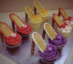 Looks simple enough and delicious: Shoes, High Heel Cupcakes, Sweet, Food, Highheels, Cup Cake, High Heels, Party Ideas, Shoe Cupcake