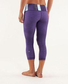 Lululemon Wunder Under crops... best workout clothes ever!