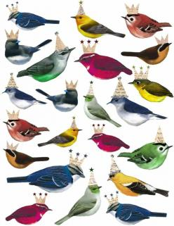 Mark Montano: Some beautiful things to inspire you..........: Crowns Printable, Crowned Birds, Partybirds Jpg, Free Printable, Printable Birds, Birds Printable