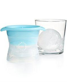 Martha Stewart Collection Sphere Ice Mold - Kitchen Gadgets - Kitchen - Macy's