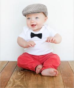 Outfit for pictures! <3: Tie Onesie, Baby Bows, Baby Bow Ties, Baby Girl, Bowties, Cute Babies, Baby Outfit, Baby Boy, Kid