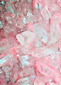 Rose quartz crystal: Gemstones, Rose Quartz, Inspiration, Quartz Crystal, Nature, Color, Pink Crystals, Rocks, Minerals