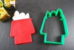 Snoopy on Roof Cookie Cutter: Christmas Cookies Snoopy, Cookies Cookie Cutters, 3D Printed, Minis, Cutter Sizes, Snoopy Cookie