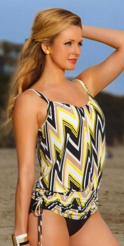 South Beach Swimwear-Magicsuit 2014 Solid Black Full Bottom 475657-Black Perfect for when your backyard if full of people!: Bathing Suits, 2014 Solid, Style, Modest Beach Outfit, Swimsuits, Swimwear Magicsuit 2014, South Beach, Beach Swimwear Magicsuit