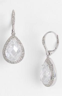 Timeless pear drop earrings #NordstromWeddings: Earrings Nordstromweddings, Timeless Pear, Drop Earrings, Nordstrom Exclusive, Pears, Jewelry, Nordstrom Wedding, Nadri Pear