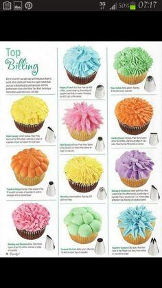 Tips for Cupcake Frosting