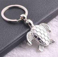 Turtle Key Ring: Steel Key, Turtle Gifts, Key Rings