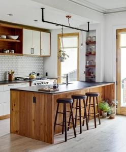 WE Design - desire to inspire - desiretoinspire.net: Greenpoint Townhouse, Cabin Kitchens, Kitchen Design, Világos Konyha, Photo