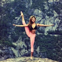 Yoga Bucket List: Clifftop. EEK!: Body, Fitness, Yoga Poses, Motivation, Healthy, Yoga Inspiration, Dance, Workout