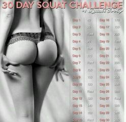 30 days squat challenge: Health Fitness, Challenges, Workouts, Squats, Exercise, 30 Day Squat Challenge, Tips, Challenge Health, Fitness Trusper