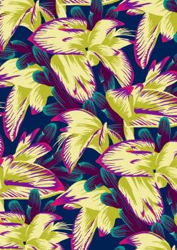 Colourful floral print: Tropical Floral, Phone Background, Patterns And Prints, Prints Patterns Textures, Patterns Prints, Wallpaper Prints Patterns