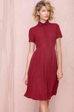 Dress❥: Dress Shops, Red, Style, Dresses, Nasty Gal, Nastygal