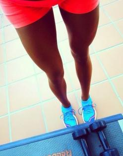 Fit and thigh gapped! It is a proof that not only skinny bitches can havr thighgap! :) You dont have yo starve. Just eat clean and healthy and do catdio and lots of yoga and you will get it.: That, Leg, Girl, Fitness Inspiration, Healthy, Fitness Blog, Fi