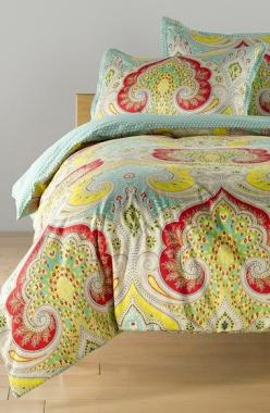 Free shipping and returns on Echo 'Jaipur Mini' Duvet & Shams at Nordstrom.com. Bold, beautiful paisley swirls across a vibrant cotton duvet cover paired with matching shams.: Echo Jaipur Mini Duvet, Cotton Duvet, Nordstrom, Duvet Covers, Mini
