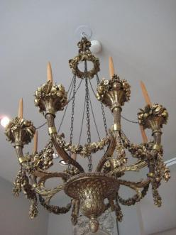 Fit and thigh gapped it is a proof that not only skinny for Chandelier mural antique
