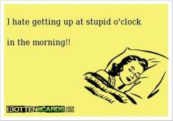 Funny Pictures Of The Day – 91 Pics: E Card, Stupid O Clock, Oclock, Funny Stuff, Humor, Funnies, Ecards, Morning