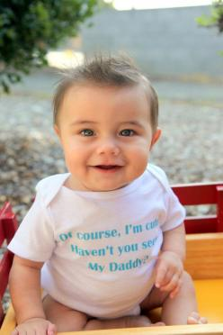 Of Course I'm Cute Haven't You Seen My Daddy  by ShopTheIttyBitty, $16.00: Havent, Baby Baby, Boys, Baby Girls, Baby Boy, Funny Baby Onesie, Kid