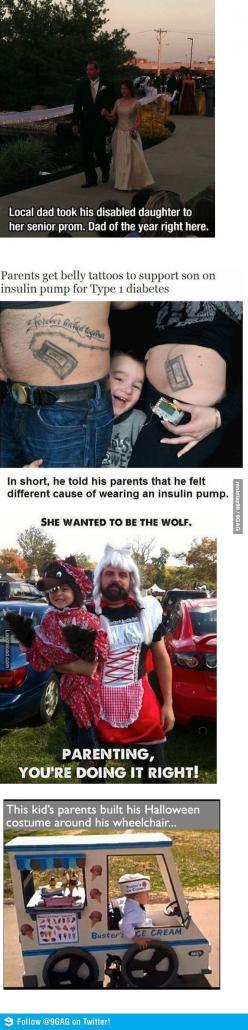 Parenting... you're doing it right!: Sweet Parenting, Humanity Restored, Awesome Parenting, Parenting Done Right, Awesome Parents, Parenting Wins, Faith In Humanity, Amazing Parents