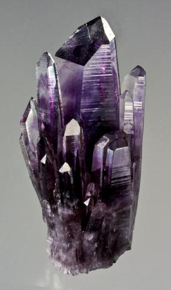 Quartz var. Amethyst - Amatitlan, Guerrero, Mexico / Mineral Friends <3: Minerals Crystals Fossiles, Gems Minerals Crystals, Precious Stones, Crystals Minerals, Mineral Friends, Quartz Var, Var Amethyst