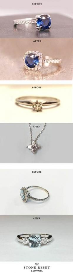 Something old and something new! Don't let your jewelry collect dust - transform your loved pieces into a design you'll actually wear with Stone Reset.: