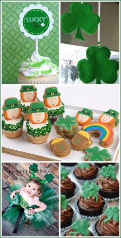 St. Paddy's decorations, desserts and crafts: St Patricks Day Ideas, St Patricks Day Party Ideas, Inspiration Board, St Patricks Day Desserts, Cupcake, Saint Patricks Day Party, St. Patrick'S Day, St Patty