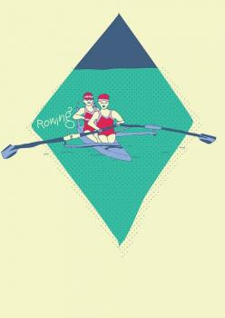 Summer Olympic Sports : Rowing by DimitraTzanos, via Flickr: Rowing Workout, Olympic Wallpaper, Xxx Olympic, Olympic Set, Olympic Sports, Summer Olympic, Photo