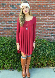 T Shirt Dress #swoonboutique
