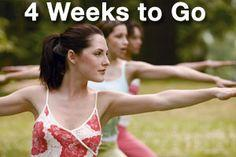 The Four-Week Bridal Body Prep Plan - for you brides out there!!