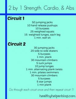 The Ultimate Strength Workout Round-Up - 28 pinnable workouts in one post including this Cardio/strength/Abs workout. #FitFluential: Circuit Workouts, Health Fitness, Recipe, Fitness Workouts, Strength Workout, Healthy, 2By1Workout Jpg, Snacks, Cardio Str