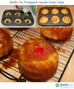 This page contains muffin tin pineapple upside down cake recipes. Make your next pineapple upside down cake in muffin tins for a sweet little treat.: Sweet, Muffin Tins, Food, Tin Pineapple, Mini Pineapple, Upside Down Cakes, Pineapple Upside Down Cake, C