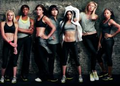 This picture at Lady Footlocker made me leave the mall early to go home and run.: Inspiration, Fitness, Motivation, Annie Leibovitz, Nike Women, Nikes, Health, Workout