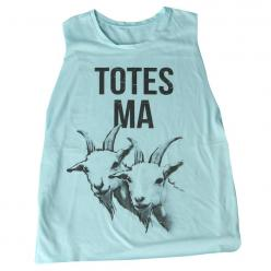 Totes Ma Goats Mint Tank: http://shop.nylonmag.com/collections/whats-new/products/totes-ma-goats-mint-tank #NYLONshop: Style, Goats Mint, Nylonshop, Mint Tank, All Ma, Ma Goats, Tanks