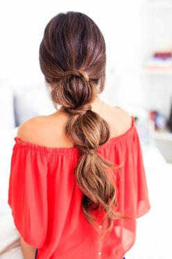 3 Lazy Hairstyles for Lazy Days — Luxy Hair Blog - All about hair!: Long Hair Style, Long Hair Hairstyle, Lazy Hairstyles, Easy Long Hairstyle, Lazy Days