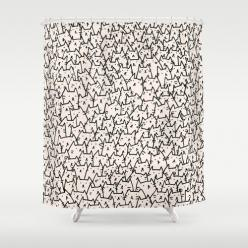A Lot of Cats Shower Curtain: Showers, Cats Meow, Funny Shower Curtains, 9 Cats, Cats Shower, Crazy Cat, Cat Shower Curtain, Products, Cat Lady