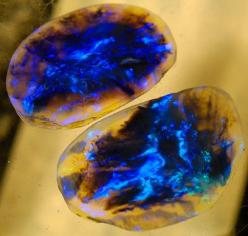"Amazing ~  "" Yes, the stone you see above is actually from Earth, and called Lightning Ridge Black Opal. It gets its name from a real Australian town in New South Wales and is one of the rarest kinds of opal on the planet."": Crystals, Gemstones, R"