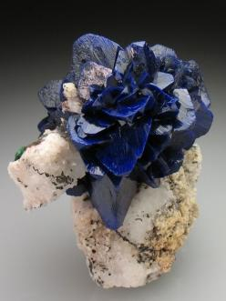 azurite: Crystals, Gemstones, Gem Stones, Nature, Rocks Minerals, Azurite Blades, Beautiful, Blue Roses