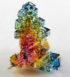 Bismuth: Crystals, Color, Mineral, Metal, Stone, Rock, Gem, Rainbow