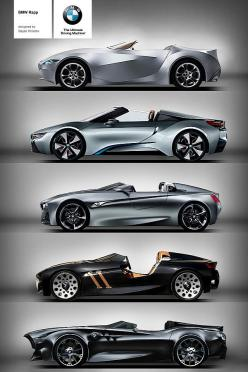 BMW Rapp Anniversary Concept. GINA, i8, Vision ConnectedDrive, 328 Hommage, Rapp Concept: Anniversary Concept, Cars, Bmw Rapp, Bmw Concept, Rapp Anniversary
