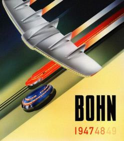 Bohn Aluminum 1947 48 49  A beautifully restored poster. Bohn Aluminum & Brass, 1947.: Graphic Design, Future, Retro Futurism, Illustration, Sci Fi, Posters, Art Deco, Arthur Radebaugh