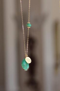 Chrysoprase Pendant Necklace, Yoga Lotus Flower, Gemstone Long Layer Necklace, Chrysoprase, Long Gold Necklace, Trendy, Chic: Gemstone Necklace, Layered Necklace, Simple Necklace, Long Pendant Necklace, Long Gold Necklace, Lotus Flower, Layer Necklace