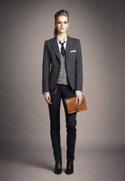 Comment sapproprier le style masculin au féminin: Fashion, Style, Woman Suit, Suits, Tomboy Outfit, Women'S Suit