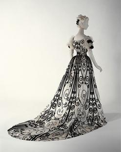 Evening Dress Jean-Philippe Worth, 1898-1900 The Metropolitan Museum of Art: 1898 1900, Evening Dresses, Fashion, House Of Worth, Charles Frederick Worth, Gowns, Houseofworth, Costume