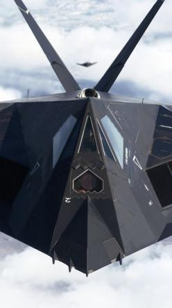 F117A Stealth Fighter.......which really was just a small bomber....should have been B117A if you ask me. lol: Air Force, Airplane, Aircraft, Stealth Fighter, Fighter Jet, Planes, F 117 Nighthawk