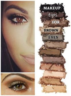 For all you brown eyed beauties! #eyeshadow #makeup #tips: Beauty Tutorials, Beauty Cares Eyes, Beauty Tips, Makeup Tips For Brown Eyes, Makeup Ideas, Eyeshadow For Brown Eyes, Brown Eyed Girl, Eye Makeup For Brown Skin, Eyeshadow Makeup