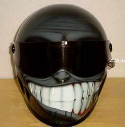how can you not smile at this helmet?: Motorcycles, Helmet Design, Stuff, Bikes, Cars, Motorcycle Helmets, Things
