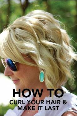 http://natural-hairs.com/57-most-attractive-short-hairstyles-that-drive-men-crazy-loco/ These effortless beachy waves are perfect for your rustic outdoor wedding. This short bridal hairstyle is filled with tips and tricks for how to help your soft curls l